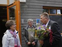 100.000ste bezoeker Bezoekerscentrum Holl Biesbosch Dordrecht