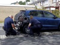20173107 Zoveelste auto in brand gestoken in Dordrecht Tstolk 004