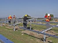 25.000 zonnepanelen langs A16 Rijksstraatweg Dordrecht