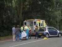 20162908 Eén gewonde bij frontale aanrijding Simon de Danserweg Dordrecht Tstolk 002