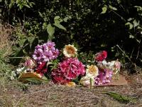 Bloemen voor omgekomen Dordtenaar Dordrecht