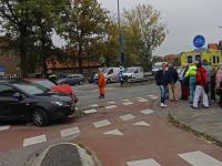 Aanrijding kruispunt Hugo van Gijnweg Dordrecht