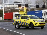 Aanrijding door onwelwording op A16 Dordrecht