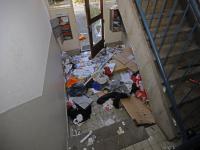 Leegstaande panden Patersweggebied grote chaos Dordrecht