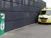 AED in gebruik op het Leerpark Dordrecht