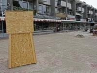 20170308 Artilleriemonument verhuist een stukje Dordrecht Tstolk