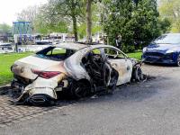 Autobrand Maasstraat Dordrecht
