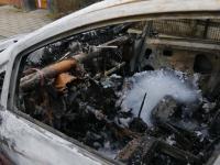 Zevende autobrand in de regio