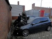 Auto's uitgebrand op de Rijksstraatweg in Dordrecht