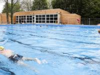 officiële opening zwembad De Dubbel