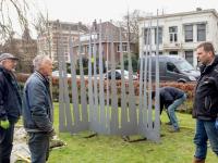 Beeldenroute in het kader van Dordrecht 800 Merwesteinpark Dordrecht