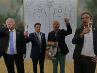 Behangselreeks Il pastor Fido blijft in Dordrecht