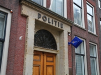 Politie gebouw binnenstad