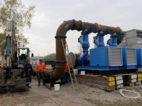 Bypass en herstelwerkzaamheden aan vuilwaterkelder