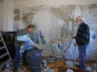 Veel schade aan woningen Oosterdiep De Staart Dordrecht
