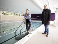 Kijkje in vernieuwd zwembad De Dubbel Dordrecht