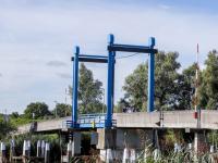 Blauwe brug Wantij afgesloten voor aanleg extra aanrijroute hulpdiensten