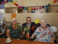 104 jarige mevrouw Provilij-van Hengel