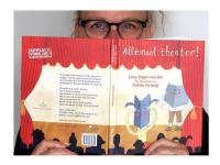 omslag Allemaal theater met Nelleke Verhoeff