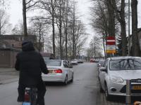 Patersweg tegen verkeer in rijden Dordrecht