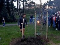 20172803 Boom geschonken aan sportclub natuurlijksportief Wantijpark Dordrecht Tstolk