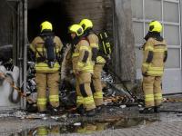 Pand zwaar beschadigd na grote brand