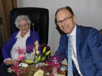 Mevrouw Van Pelt - Vos 101 jaar