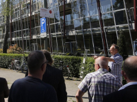 Buurtlabel Veilig Verkeer Nederland voor Bankastraat Dordrecht
