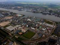 Luchtfoto DuPont Dordrecht