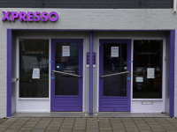 Coffeeshop Xpresso in Zwijndrecht gesloten