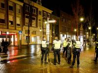 Veel politie op de been in centrum Dordrecht , gelukkig bleef het rustig Dordrecht
