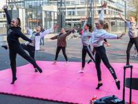 Cursisten ToBe krijgen buitenles Energieplein Dordrecht