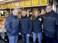 Groepsfoto marktmeesters Dordrecht