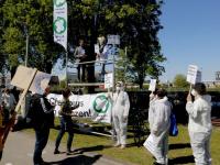 Demonstratie bij Chemours