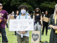 Black Lives Matter Demonstratie Weizigtpark Dordrecht
