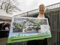 ondertekening contract nieuwbouw Louterbloemen Dordrecht