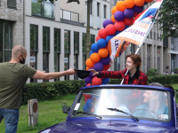 Drive-in Diploma uitreiking Insula College Leerpark VMBO