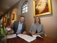 Sponsorcontact getekend Dordrechts Museum Dordrecht