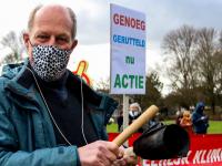 Klimaatalarm demonstratie Weizigtpark Dordrecht