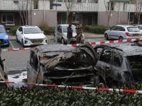 Meerdere auto's uitgebrand