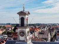 Windvaan terug op Stadhuis Dordrecht