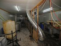 Groot drugslab ontdekt in loods Sliedrecht