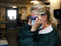 Verpleegafdeling D3 deel speciaal ingericht voor Covidpatienten ASZ Dordrecht