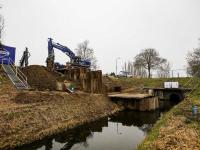 Project Waterkraan Zeedijk in volle gang Dordrecht