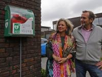 Wethouder Lambrechts brengt bezoek aan duizendste hulpverlener hartveilig wonen