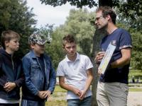 Overhandiging Kidskaart Sterrenburgpark Dordrecht