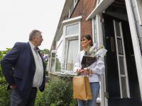 Felicitatie eerste starterslening Soembastraat Dordrecht