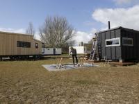 Eerste Tiny houses Tussentij geplaatst Dordrecht