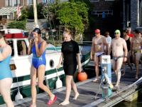 Eerste training Swim to Fight Cancer 2019