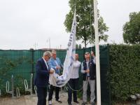 officiële opening van het tennispark van DLTC-Thialf Dordrecht